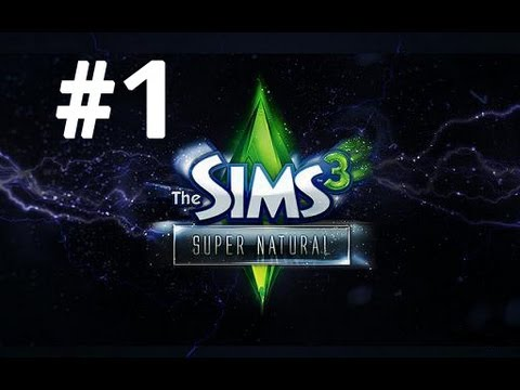 Let's Play: The Sims 3 Supernatural - [Part 1] - Create-a-Supernatural