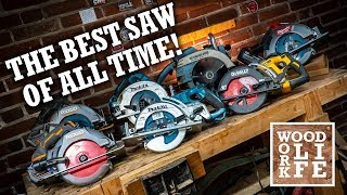 The BEST Cordless Circular Saw OF ALL TIME? - Cordless Circular Saw Shootout | Hand Tool Shootout