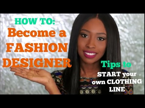 HOW TO START A CLOTHING LINE WITHOUT FASHION SCHOOL!!   SUCCESS SATURDAY SERIES
