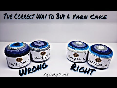 Yarn Shopping How To Buy a Cake of Yarn so Your Projects Always Look Great Crochet Tip