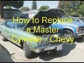 How to Replace a Master Cylinder - Chevy