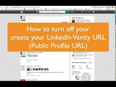How to create your LinkedIn Vanity URL (Public Profile URL)
