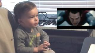 Man of Steel from a Baby