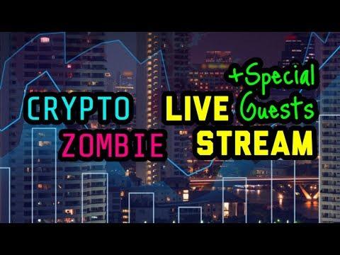 Crypto Zombie | Crypto Candor | FUD TV | Quantalysus | Cryptocurrency Chat: $BTC $EOS $ICX $ELA $ADA