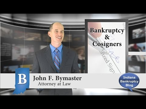 What happens to Cosigners in Bankruptcy