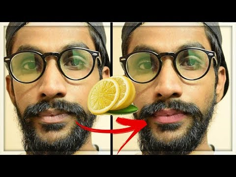How To Get Rid Of Dark (Black) lips at Home | Remove Cigarette Stains ★TheRealMenShow★