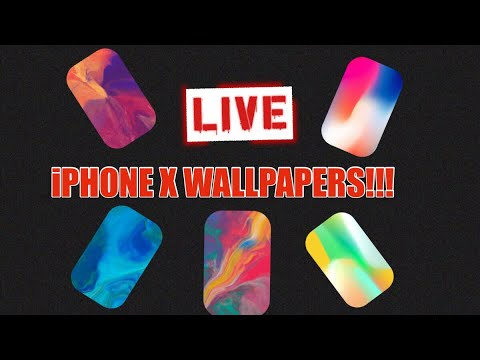 How To Get FREE iPhone X Live Wallpapers, (no computer and no jailbreak)