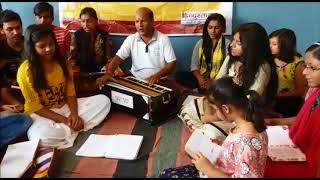 हिन्दुस्तान के स्वच्छता अभियान को बच्चों ने गीत में पिरोया