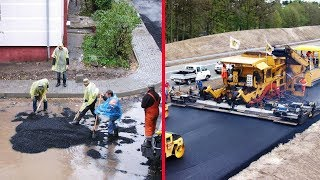Modern Road Construction: Russia vs Germany
