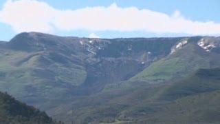 Massive mudslide in western Colorado