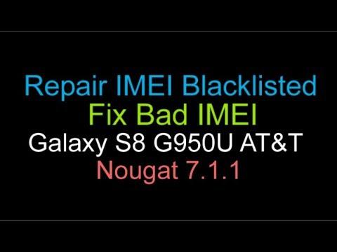 Repair Blacklisted IMEI Samsung Galaxy S8 AT&T G950U