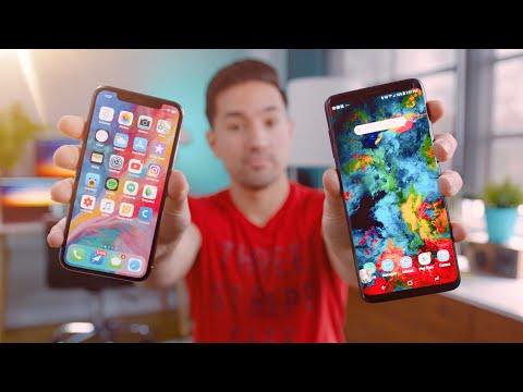 Samsung Galaxy S9 Plus vs Apple iPhone X!
