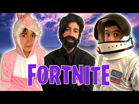 Fortnite Songs In Real Life!! - Kids Parody