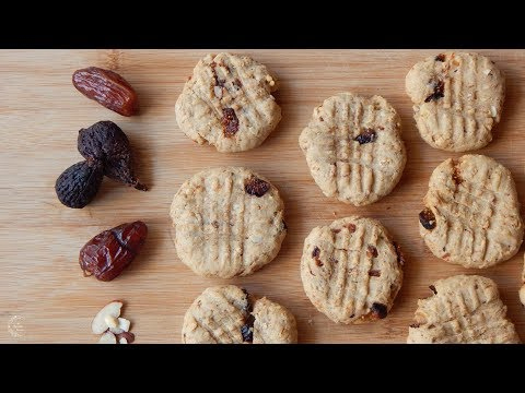 Fruit & Nut Cookies Recipe | Breakfast Cookies Recipe | The Sweetest Journey