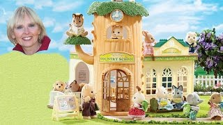 ♥♥ Calico Critters Country Tree School