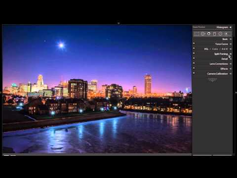 Learn Lightroom 5 - Part 31: Process a Night Image