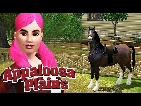 The Sims 3 House Tour - Appaloosa Plains Homes - Town from Pets Expansion Pack EP - Episode 1