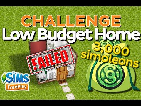 The Sims FreePlay - Low Budget Home (3,000 simoleons)