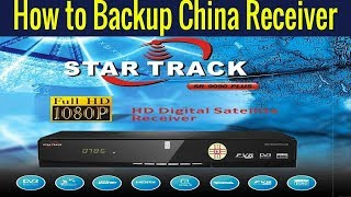 How To Install Flash File In Star Treck ST 550D Satellite