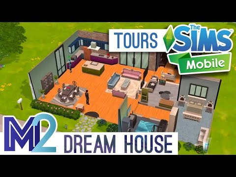 Sims Mobile House +  Venue Tour - Unlocked Items, Rooms and Land