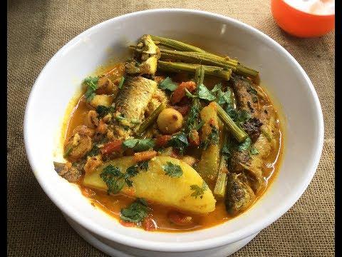 Bata Macher Jhol Sabji Diye (without Onion & Garlic) | Indian Style Fish Curry with Vegetables #321