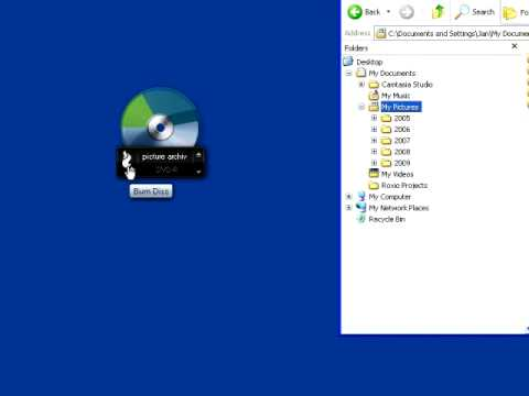 Archiving Data and Copying Discs with Roxio Burn