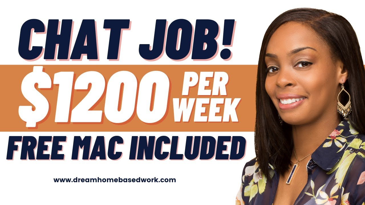 Best Online Work from Home Chat Job Hiring Now| FREE MAC Equipment
