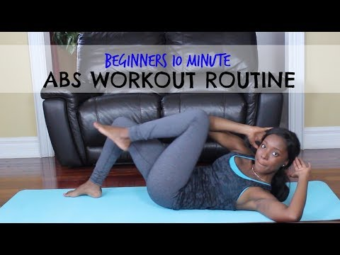 #4 | 10 Minute Ab Workout Routine for Beginners