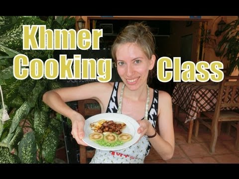 Cambodian Cooking Class in Battambang, Cambodia (Nary's Kitchen Khmer Cooking School)