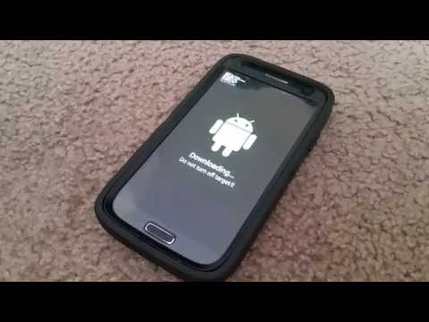 how to enter/exit download mode on the galaxy s4