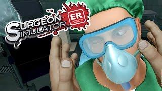 Surgeon Simulator ER - VR Eye Transplant Gone Wrong! - Let