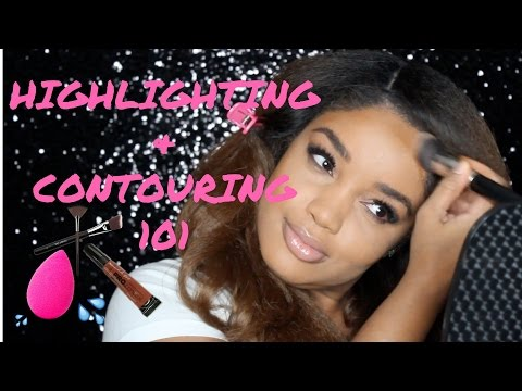 Contouring and Highlighting 101: Square Shaped Faces | La Perle Beaute