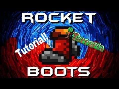 Terraria: How to get the Rocket Boots!!!