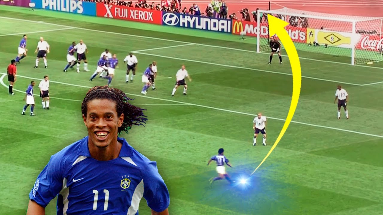 50 Magical Curve Goals In Football