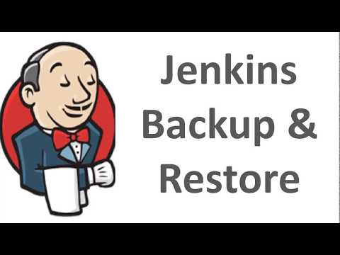Jenkins CICD  |  Jenkins Configuration Backup and Restore