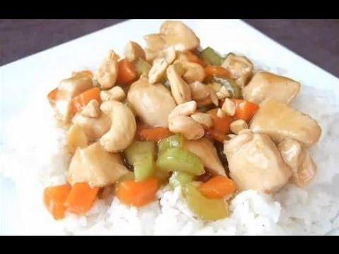 Restaurant Style Cashew Chicken