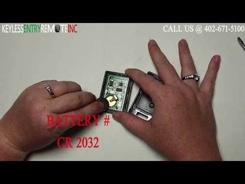 How To Replace Cadillac SRX Key Fob Battery 2010 2011 2012