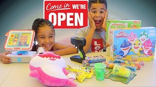 Kids Pretend Play Toy Store | FamousTubeKIDS