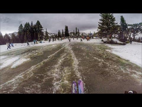 Snowbird Closing Day Pond Skim Ski