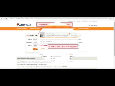 How to Convert Credit Card transactions to EMI  ICICI ?