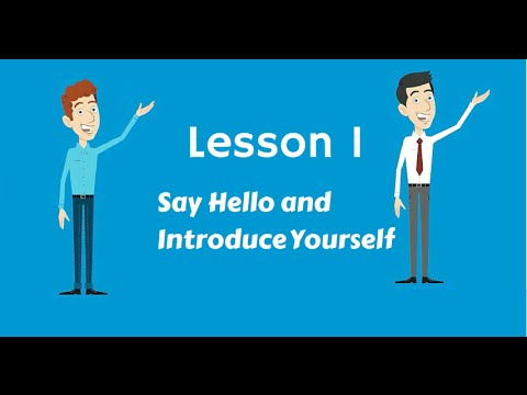 Turkish Lesson 1 - Say Hello and Introduce Yourself in Turkish