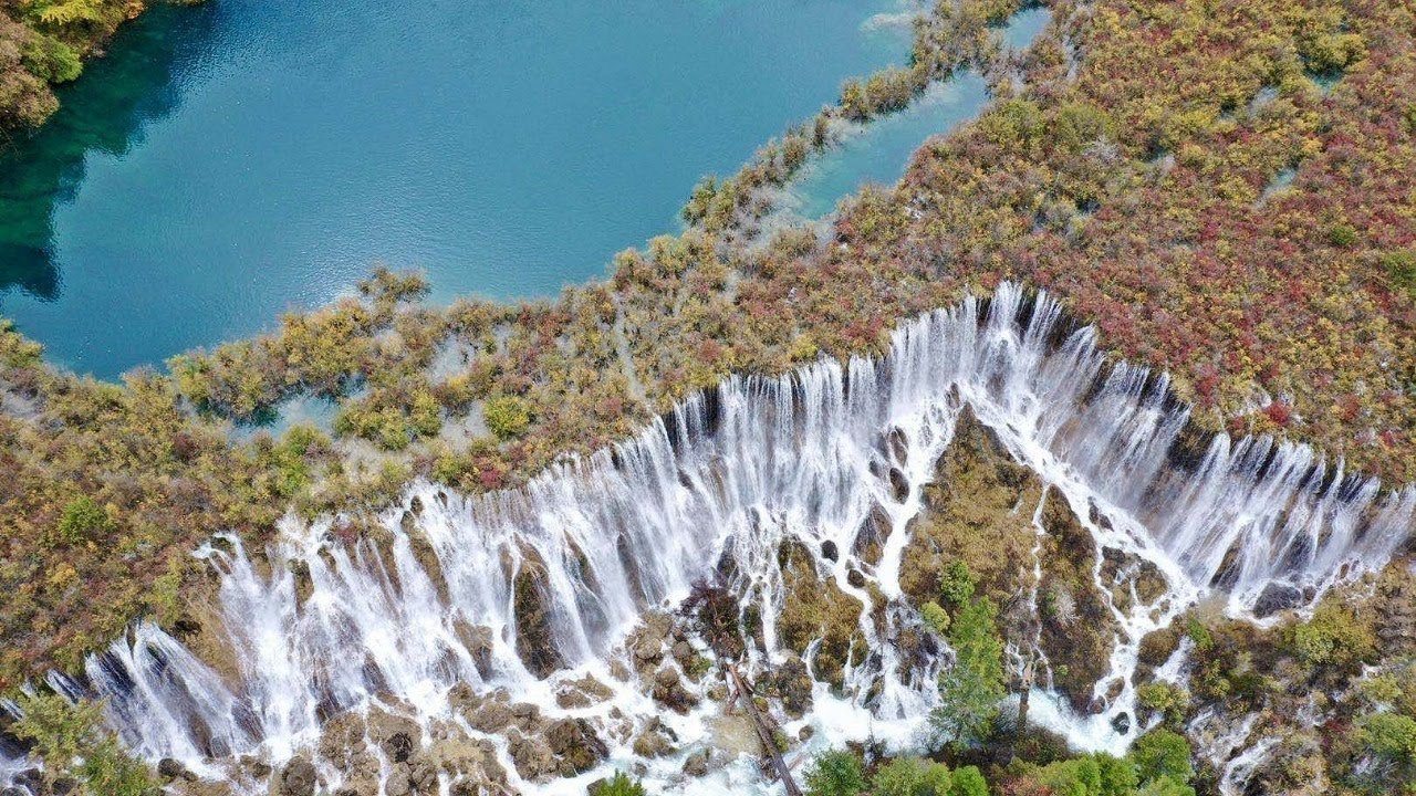 Live: Natural beauty – China's widest waterfall – Ep. 21