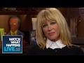 Suzanne Somers Dishes On Barry Manilow S Wedding Wwhl