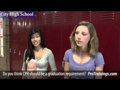Should CPR be a High School Graduation Requirement in Michigan?