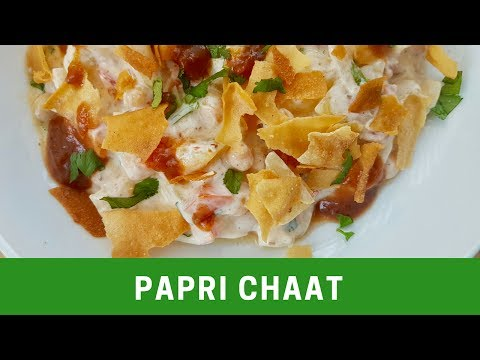 Spicy Papri Chaat   پاپڑی چاٹ - Cook with Huda