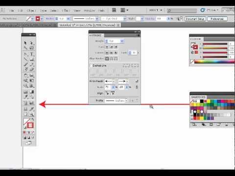 Adobe Illustrator Adding Arrows to a Stroke