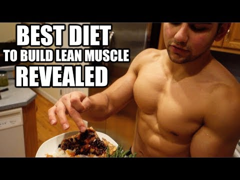 Best Diet To Build Lean Muscle Mass (Full Day Of Eating)
