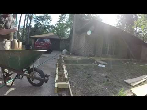 Concrete Retaining Wall (Part 2)