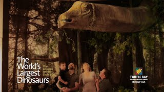 Download The World's Largest Dinosaurs - Turtle Bay Exploration Park, Redding CA Video