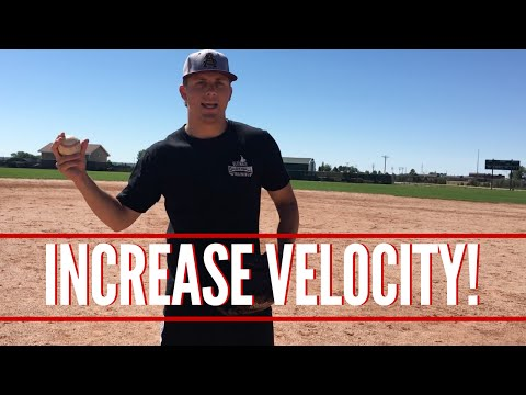 Increase Velocity By Stealing This Trick From The Pro's! - Baseball Throwing Fundamentals